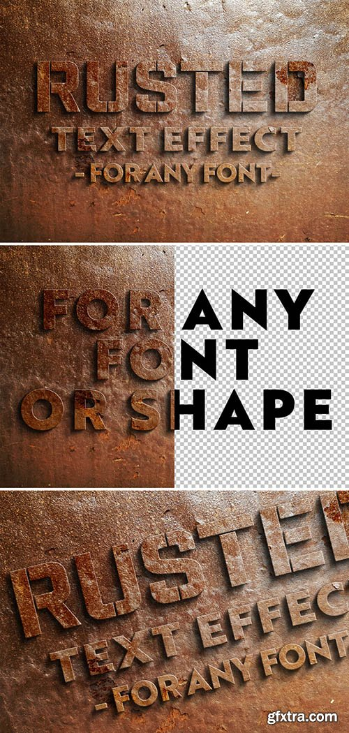 Rusted Text Effect 300990687