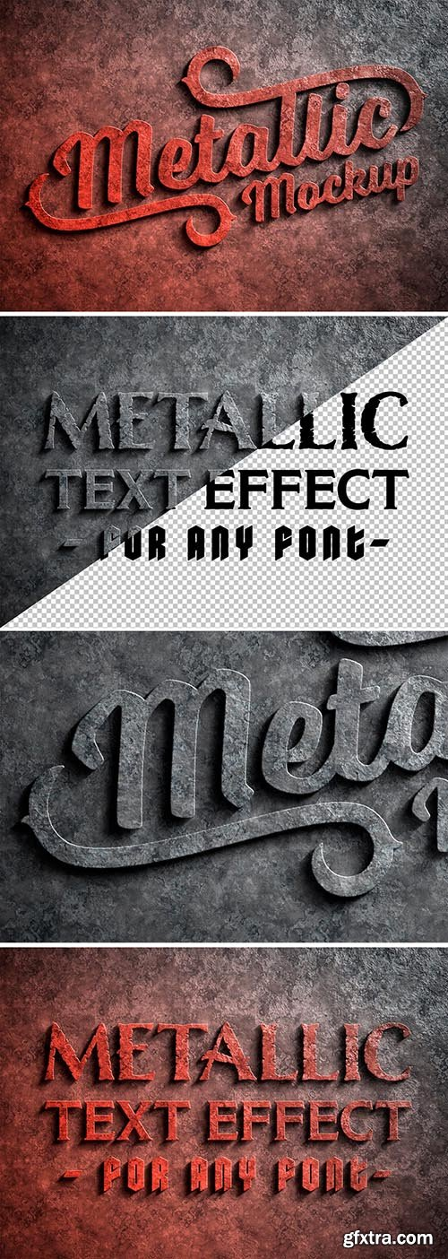 Corroded Metal Text Effect 300467506