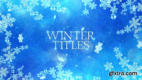 Videohive Winter Titles 2539119