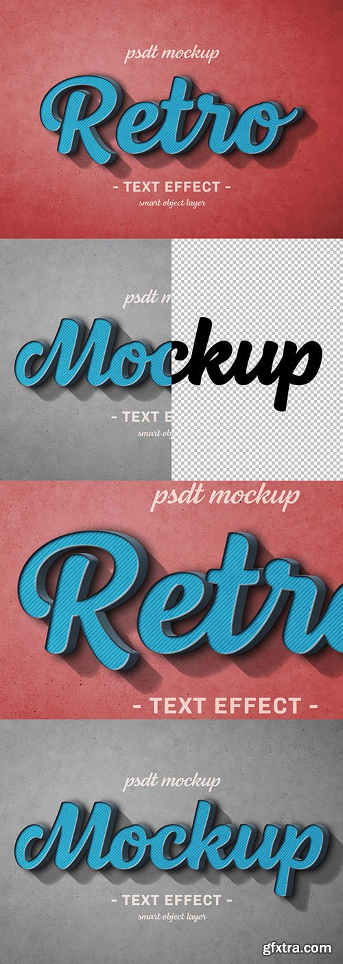 Colorful Retro Text Effect 300467899