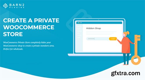 WooCommerce Private Store v1.4.2 - NULLED - Barn2