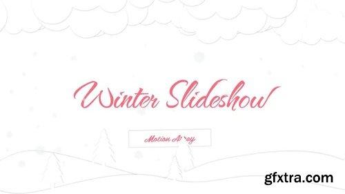 MotionArray Minimal Winter Slideshow 317113