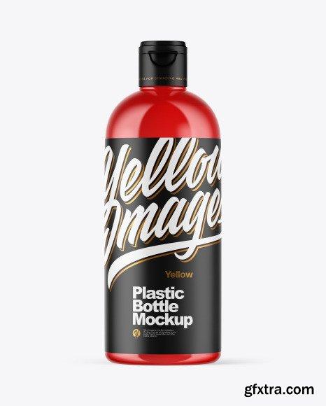 Plastic Bottle Mockup 51045