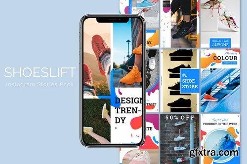 Shoeslift - Instagram Story Pack