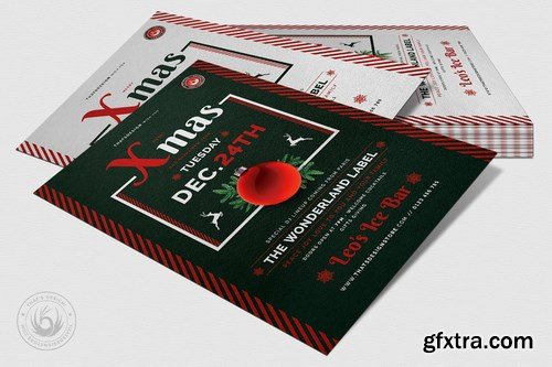 Christmas Eve Flyer Template V12