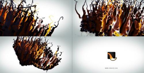 Videohive - Liquid Wax Logo Intro