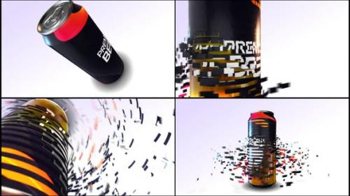 Videohive - E3d Beer Can Commercial