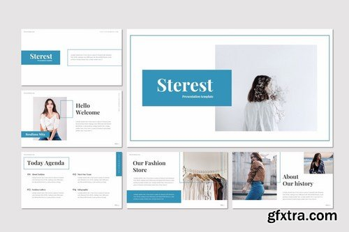 Sterest - Powerpoint Google Slides and Keynote Templates