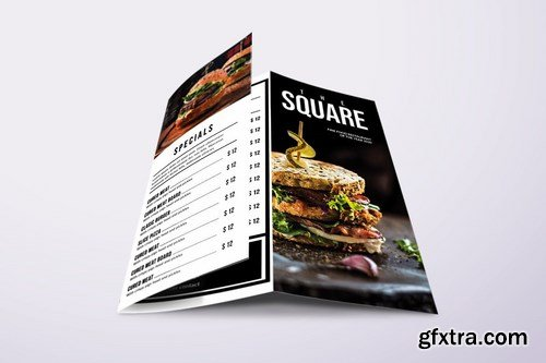 Classic Minimal Food Menu Bundle