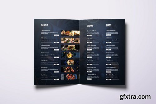 Fresh Minimal Food Menu Bundle