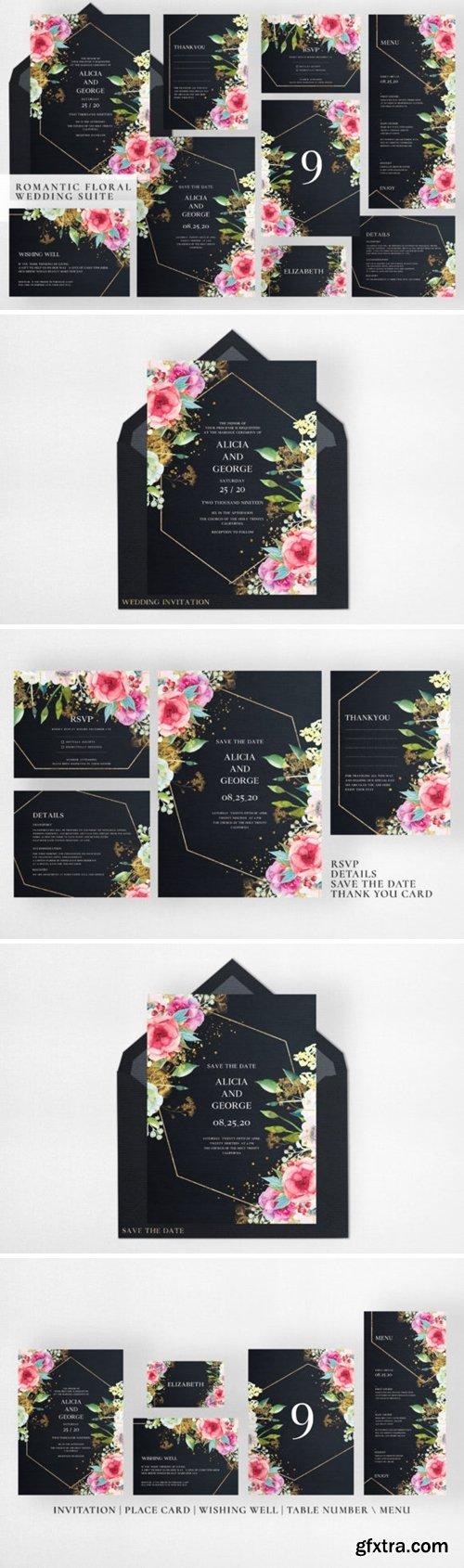 Romantic Floral Wedding Suite 1997061