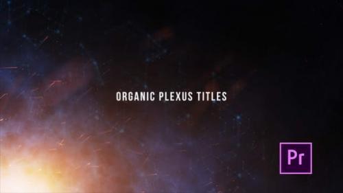 Videohive - Organic Plexus Titles - Premiere Pro