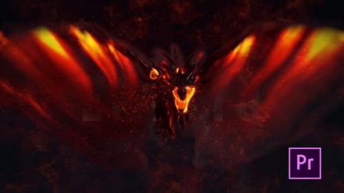 Videohive - Fire Dragon Title - Premiere Pro