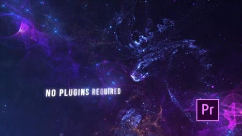 Videohive - Particle Stars Titles - Premiere Pro
