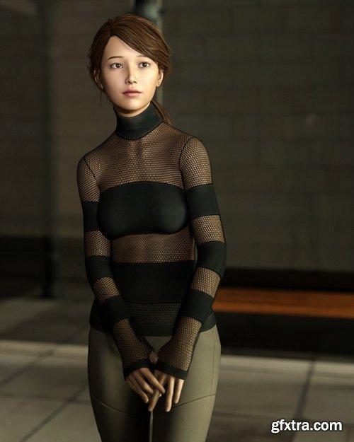 Daz3D - Ru Yi for Genesis 8 Female