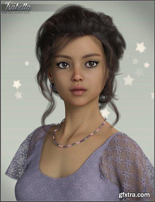 Daz3D - SASE Isabella for Genesis 8