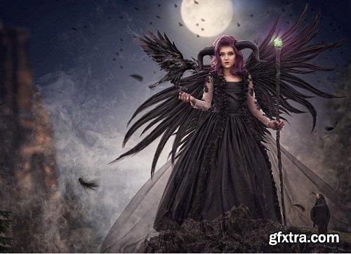 Tara Lesher Education - Compositing Tutorials - Maleficent