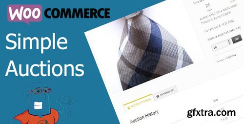CodeCanyon - WooCommerce Simple Auctions v1.2.33 - Wordpress Auctions - 6811382