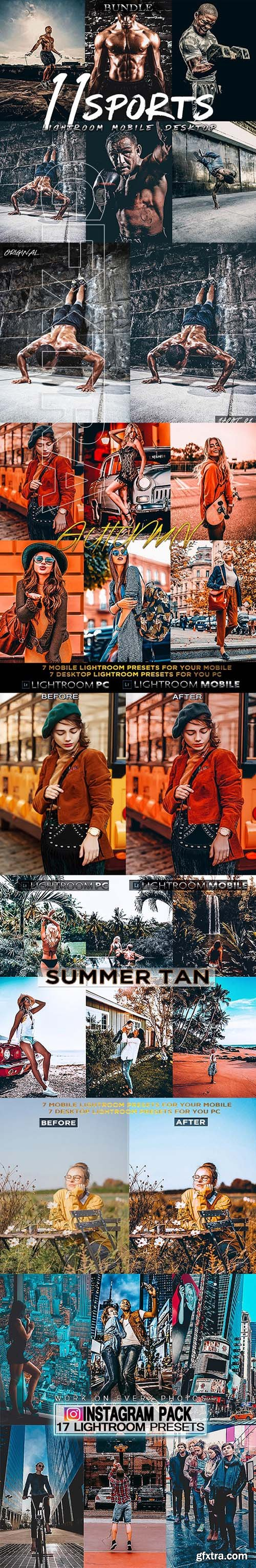 GraphicRiver - Bundle Lightroom Desktop & Mobile Presets 24875075