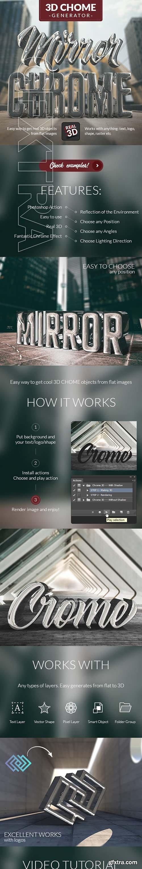 GraphicRiver - 3D Chrome Generator 24825032