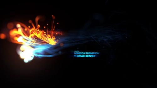 Videohive - Fire Opening Titles