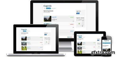 iCagenda Pro v3.7.10 - Events Manager For Joomla