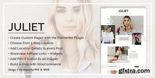 ThemeForest - Juliet v2.8 - A Blog & Shop Theme for WordPress - 17625325