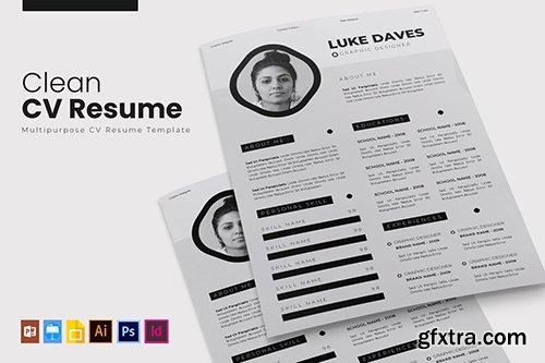 Clean | CV & Resume