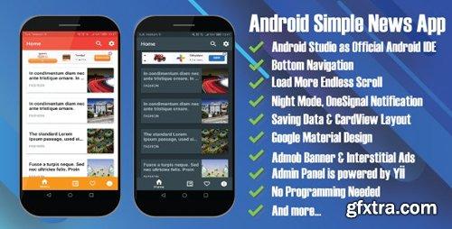 CodeCanyon - Arthur Android Simple News App v2.2 - 22561247