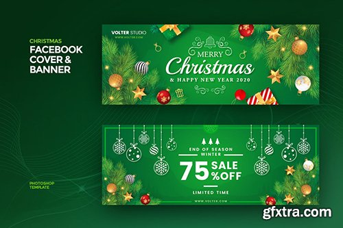 Christmas Facebook Cover & Banner 2