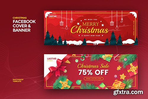 Christmas Facebook Cover & Banner