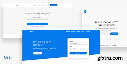 ThemeForest - Ura v1.0 - Multipurpose Landing Page Template - 24991969