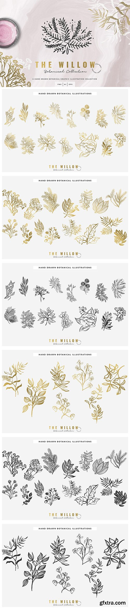 The Willow Graphic Collection