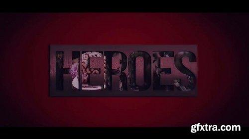 Videohive Heroes Logo Intro 24806276