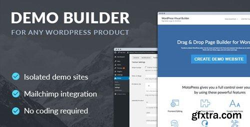 CodeCanyon - Demo Builder for any WordPress Product v1.6.1 - 17691828