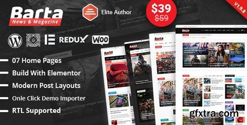 ThemeForest - Barta v1.9.8 - News & Magazine WordPress Theme - 22707516