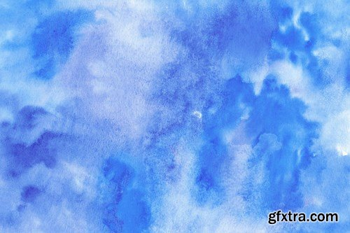 Winter Watercolor Backgrounds 4
