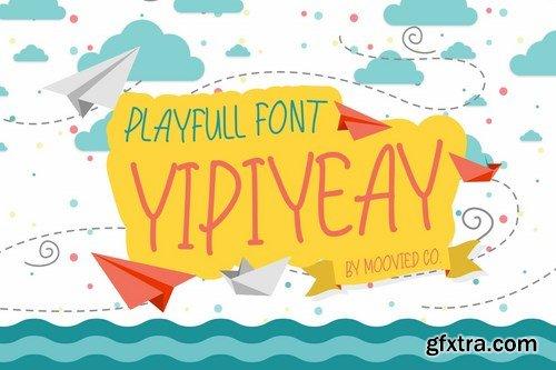 Yipiyeay Playfull Font