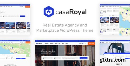 ThemeForest - casaRoyal v1.1.3 - Real Estate WordPress Theme (Update: 30 October 19) - 22662762