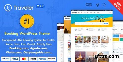 ThemeForest - Traveler v2.7.7 - Travel Booking WordPress Theme - 10822683 - NULLED