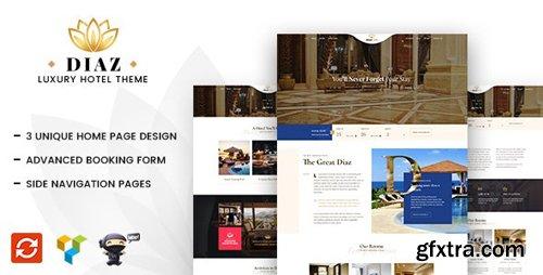 ThemeForest - Diaz v1.8 - Hotel WordPress - 21176090