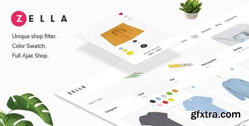 ThemeForest - Zella v2.0.5 - WooCommerce AJAX WordPress Theme - RTL support - 22688180
