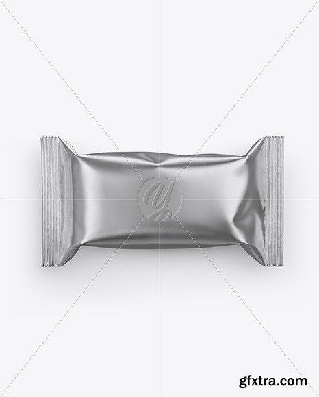 Metallic Snack Bar Mockup 51584