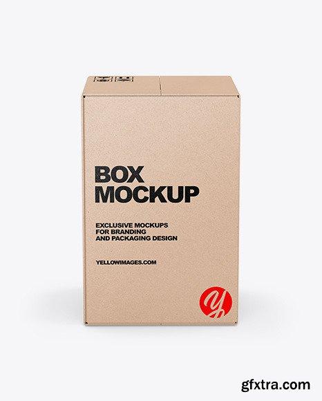 Kraft Box Mockup 51601
