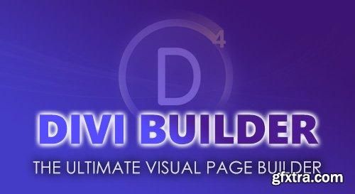 Divi Builder v4.0.6 - A Drag & Drop Page Builder Plugin For WordPress + Divi Layout Pack 2019 - ElegantThemes