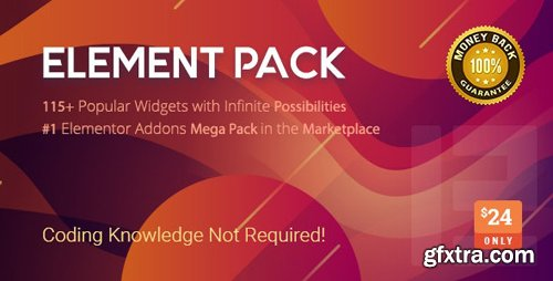 CodeCanyon - Element Pack v4.0.1 - Addon for Elementor Page Builder WordPress Plugin - 21177318 - NULLED