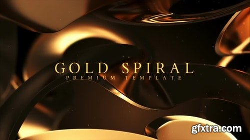 MotionArray Gold Spiral 311331