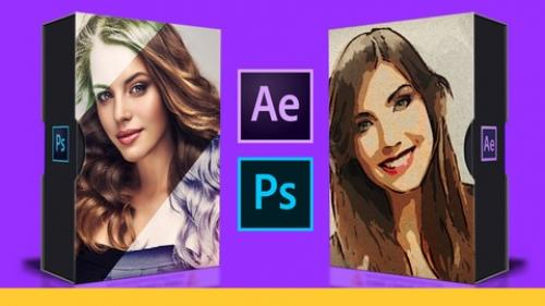 Udemy - After Effects: Convert Photos to Amazing Painting Animations