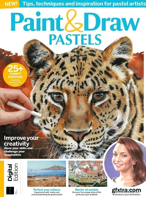 Paint & Draw : Pastels - First Edition 2019