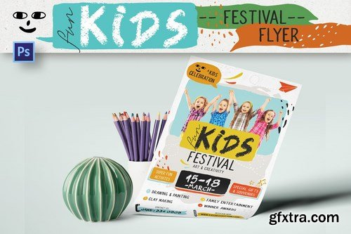 Fun Kids Festival Flyer